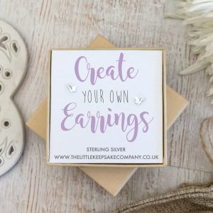 Create Your Own Gift Earrings - Butterfly