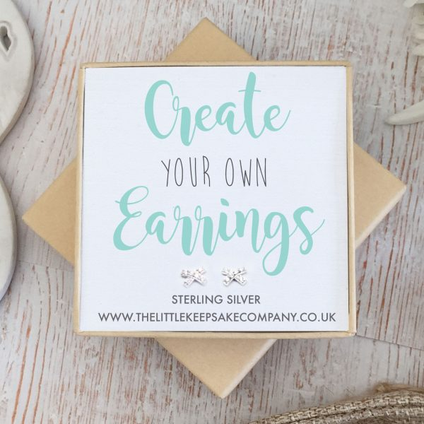 Create Your Own Gift Earrings - CZ Kiss