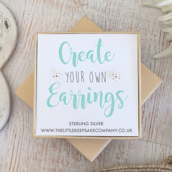 Create Your Own Gift Earrings - Flower