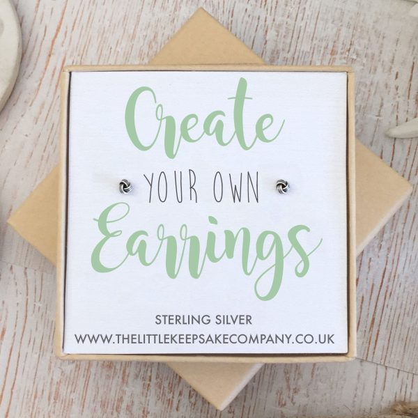 Create Your Own Gift Earrings - Knot