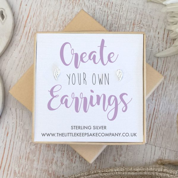 Create Your Own Gift Earrings - Wings