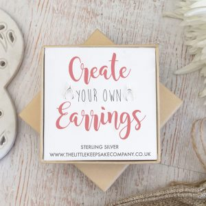 Create Your Own Gift Earrings - Wishbone