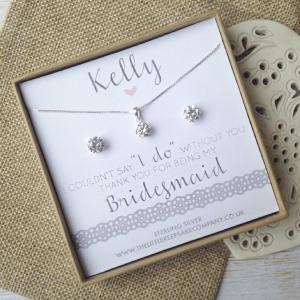 Personalised Bridesmaid Gift Set