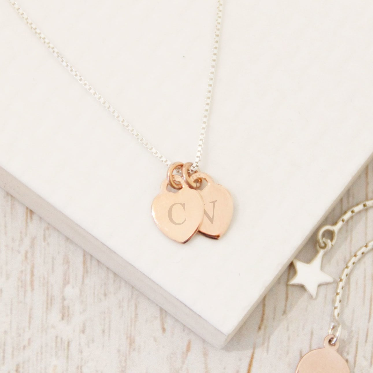 Create Your Own Heart Initial Necklace The Perfect Keepsake Gift