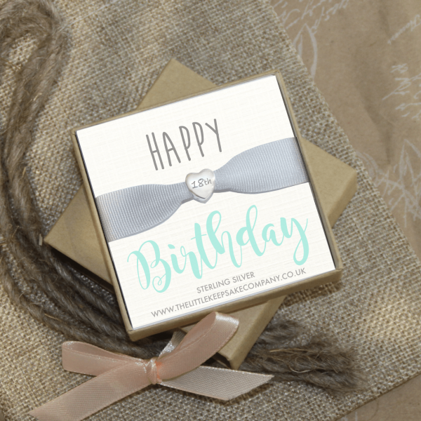 Sterling Silver Engraved 'Happy Birthday' Bead