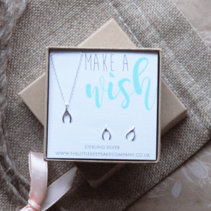 Sterling Silver Gift Set – 'Make A Wish'