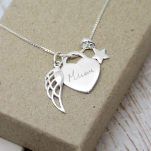 Sterling Silver 'How Long Will I Love You' Necklace With Handwriting