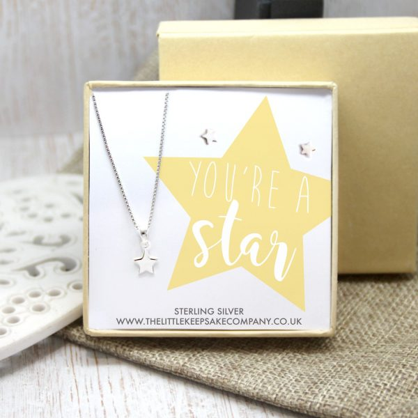 Sterling Silver Gift Set - 'You're A Star'