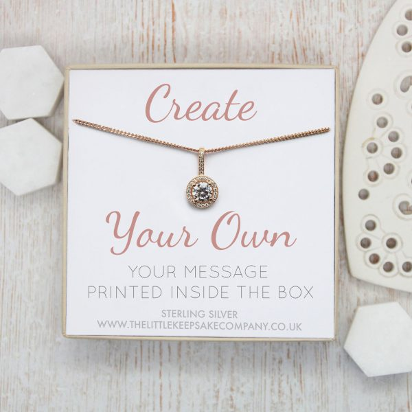 Create Your Own - Gift Necklace