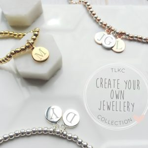 Create Your Own - Initial Disc Bracelet