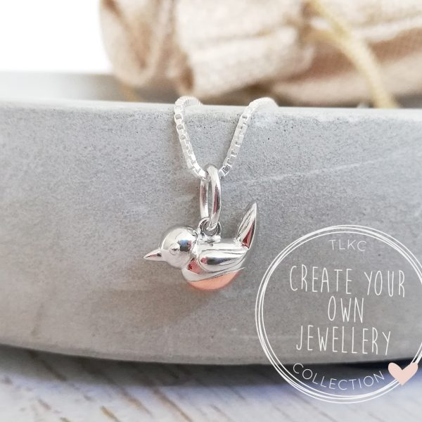 Create Your Own - 'When Robins Appear' Necklace