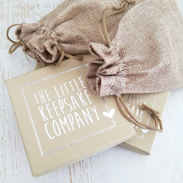 Hessian Gift Bag Free Gift Box