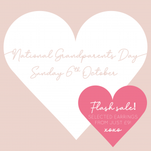 Happy Grandparents Day! Sunday 6th Oct celebrates our incredible Grandfolks