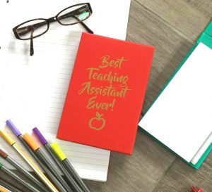 Best Teaching Assistant Ever! - Red Memo Pad with Pen