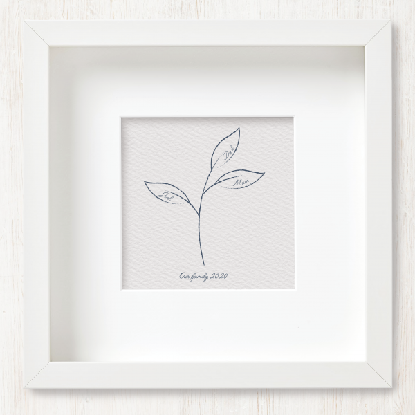 Personalised Family Tree Art Print