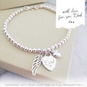 Memorial-Bracelet-Clasp-Handwriting