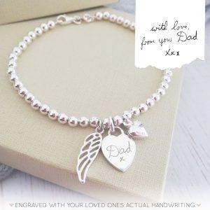Memorial-Bracelet-Clasp-Handwriting
