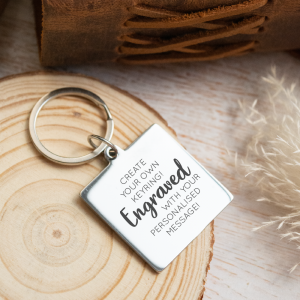 Create Your Own - Personalised Keyring